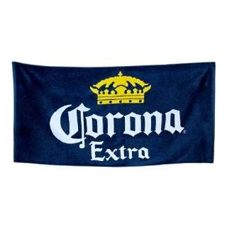 Corona Extra Beer Cotton Beach Towel Gold Crown: Home