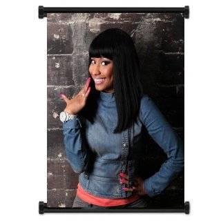 Nicki Minaj Rapper Fabric Wall Scroll Poster (16 X 21) Inches