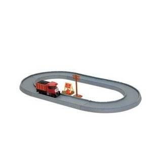 THOMAS TOMY TOMICA WORLD BULGY WITH ROAD: Toys & Games