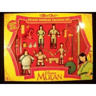 Disneys Mulan Deluxe Warrior Training Set