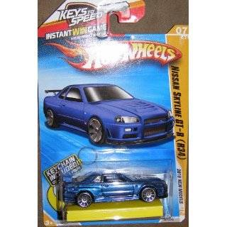 2010 Hot Wheels New Models NISSAN SKYLINE GT R (R34) blue