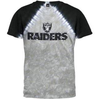Oakland Raiders Logo V Tie Dye T shirt: Sports & Outdoors