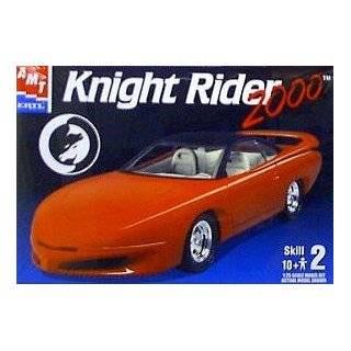 Knight Rider Knight 2000 KITT Car 125 Scale Model Kit