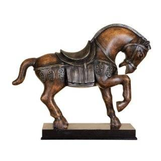 12 Chinese Tang Dynasty Horse Statue With One Leg Up