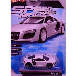 Hot Wheels Audi R8 Black die cast 1:64 scale: Toys & Games