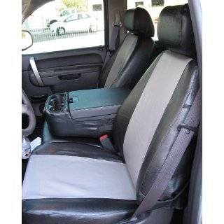 Chevy Silverado, Suburban and Tahoe LS Model Seat Covers, Gray Velour
