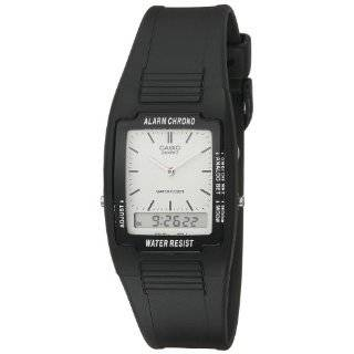 Casio Mens AW48HE 9AV Ana Digi Dual Time Watch Casio