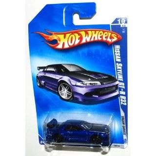 Hot Wheels 2009 156 Dream Garage BLUE 2001 Nissan Skyline GT R R32 1