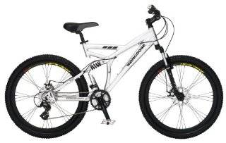Mongoose Status Dual Suspension Mountain Bike (26 Inch Wheels