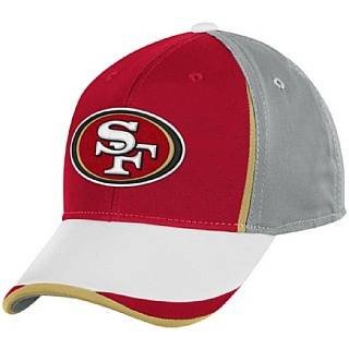 NFL Mens San Francisco 49ers End Zone Structured Flex Hat   Tw85Z