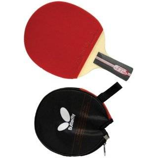 Butterfly 302 Penhold Table Tennis Racket