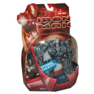 Iron Man Iron Monger with Opening Cockpit 6 Inch Scale Action Figure