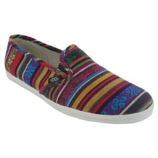 Vans Unisex VANS SLIP ON LO PRO (GUATE STRIPE) CASUAL SHOES
