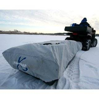 Clam X4   4 Man Back to Back Ice Fishing Shelter House
