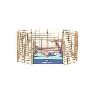 WWE Wrestling Ring Exclusive Hell in the Cell Cage Match with 2 Bonus