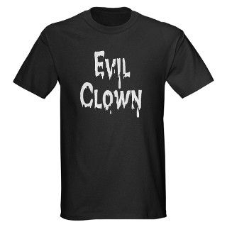 Evil Clown T Shirt by holidaysgear