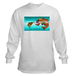 Funny fishing t shirt Long Sleeve T Shirt by funnytshirt2006