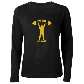 225 Gifts > 225 Long Sleeve Ts > Womens Bodybuilding T Shirt