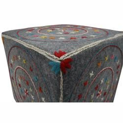 Handmade Casual Living Star Pouf
