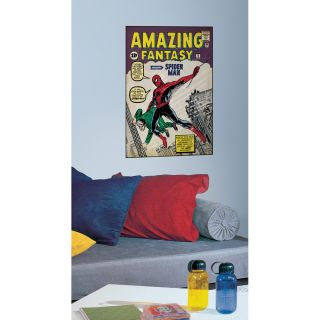 RoomMates Spider Man #1 Peel and Stick Comic Book Cover Decal
