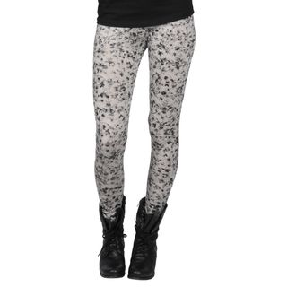 Journee Collection Juniors Watercolor Floral Print Leggings