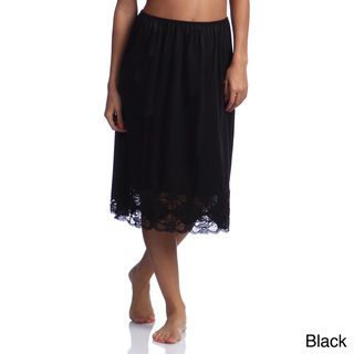 Ilusions 27 inch Antistatic Half Slip with Lace Detail
