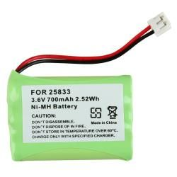 BasAcc Compatible Ni MH Battery for GE 25833 Cordless Phone