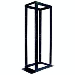 APC NetShelter 4 Post Open Frame Square Holes Rack Cabinet