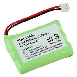 GE 25833 Cordless Phone Compatible Ni MH Battery