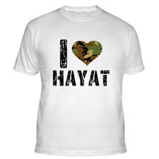 Love Hayat Gifts & Merchandise  I Love Hayat Gift Ideas  Unique