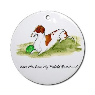 Funny Dachshund Christmas Ornaments  Unique Designs
