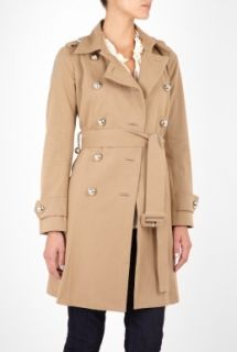 Sonia by Sonia Rykiel  Belted Trench Coat by Sonia by Sonia Rykiel