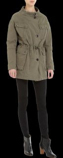 Army by Yves Salomon Fur Lined Field Jacket