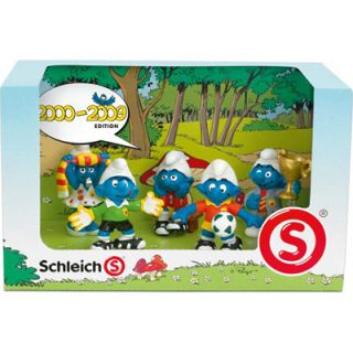 Schleich Smurf Set 2000 2009 Edition