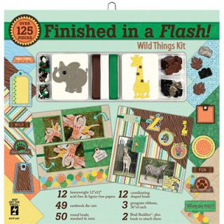 Me and My Big Ideas 12x12 Scrapbook Page Kit   Surf Shop