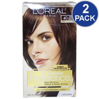LOreal Superior Preference Fade Defying Hair Color   Gold Brown #4G