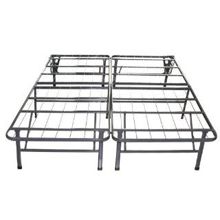 Sleep Master Platform Metal Bed Frame / Mattress Foundation, Queen