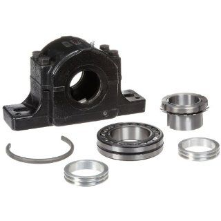 Link Belt PLB6839R Spherical Roller Bearing Pillow Block, 2 Bolt Holes