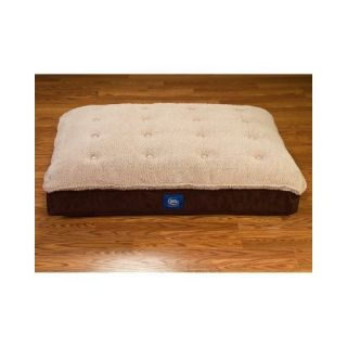 Serta Perfect Sleeper Pillow Top Pet Bed 40 X 29 Inches