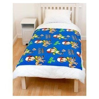 Boys Handy Manny Print Fleece Blanket/Throw (45 x 55