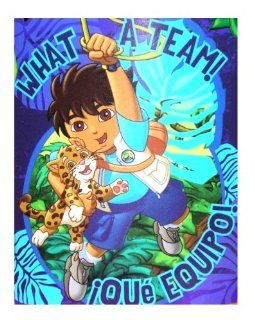 Go Diego Go   Animal Rescue   Fleece Blanket Throw: Toys & Games