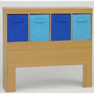 4D Concepts Boys Headboard, Beech: Home & Kitchen