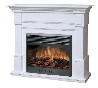 Dimplex Sussex Electric Fireplace in White