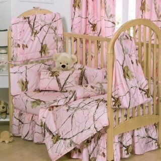 SOHO Pink Camo Baby Crib Nursery Bedding Set 13 pcs