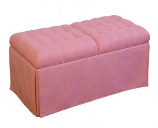 4D Concepts Girls Storage Bench, Pink