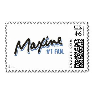 Maxine Number 1 Fan Postage Stamps