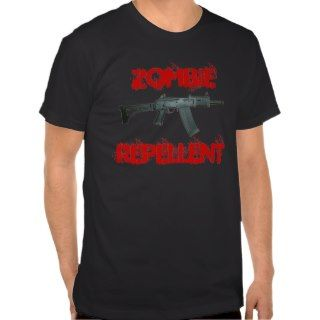 SAIGA 12, ZOMBIE REPELLENT T SHIRTS