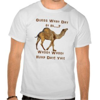 Hump Day Camel Tee Shirt