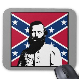 Stuart and The Confederate Flag Mouse Pads