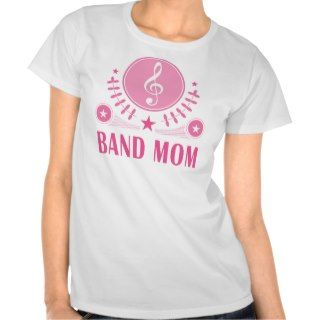 Band Mom Gift Idea T Shirts